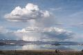 eCard: Clouds over Mono Lake