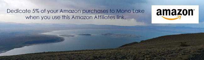 Support Mono Lake through Amazon Affiliates