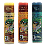 Click here for more information about Badger cocoa butter lip balm