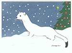 Click here for more information about Ermine holiday card set