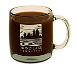 Click here for more information about Clear glass Mono Lake Committee mug