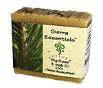 Click here for more information about Sierra Essentials fir needle soap