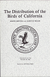 Click here for more information about The Distribution of the Birds of California