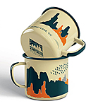 Click here for more information about Enamel Mono Lake camp mug